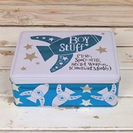 Christmas, Special, Unusual Birthday Gifts for Him - ESSENTIAL BOY STUFF TIN